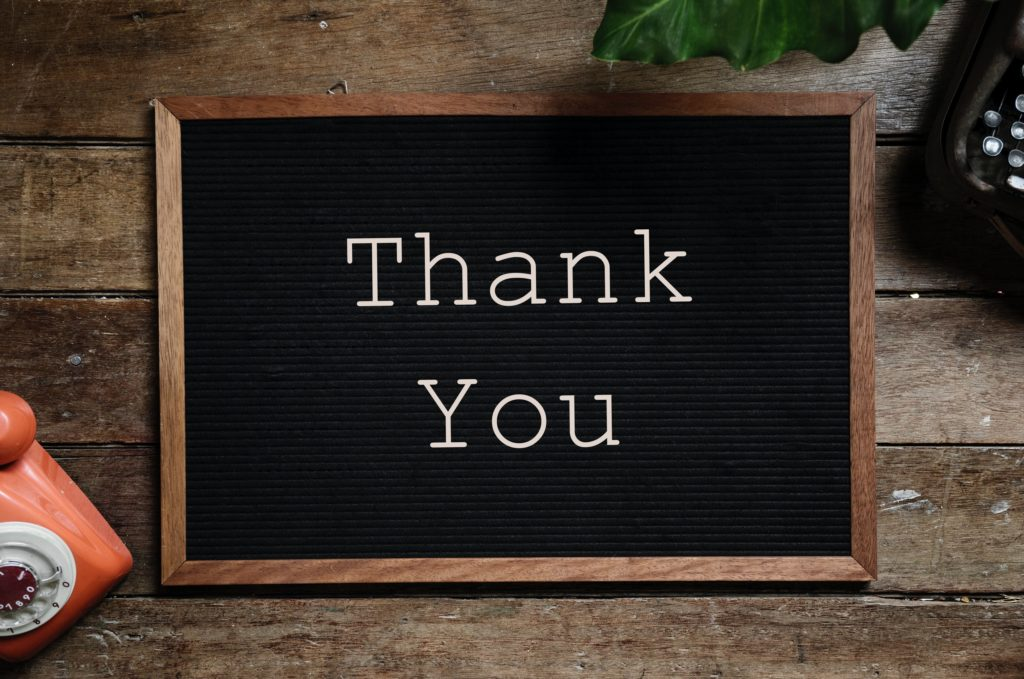 Do you value your cleaner enough to say thank you?