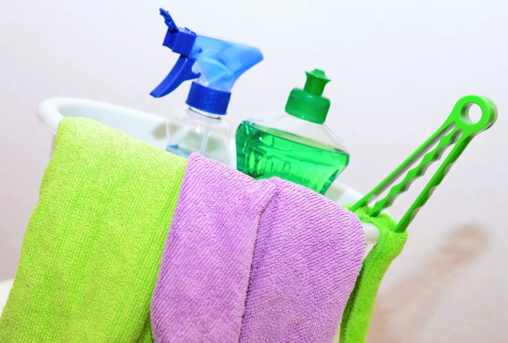 Good cleaning products help you clean